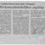 Wiener Zeitung 23. 11. 1999